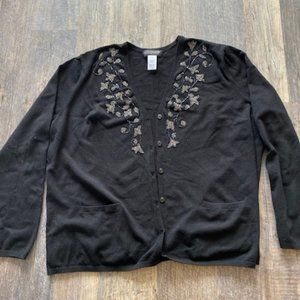 JONES NEW YORK COLLECTION embellished cardigan
